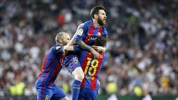 Messi cán mốc 500 bàn thắng, Barcelona 'vượt trái' Real Madrid trên đường đua La Liga