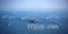 Tàu sân bay USS Carl Vinson bắt đầu tập trận với Nhật Bản