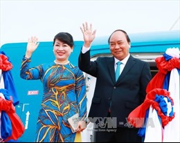 Thủ tướng Nguyễn Xuân Phúc thăm chính thức CHDCND Lào