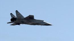 Máy bay đánh chặn MiG-31 của Nga bị rơi tại Siberia