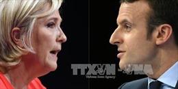Bầu cử Tổng thống Pháp: Cuộc song đấu bất ngờ của hai ứng cử viên