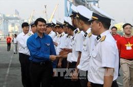 Lễ xuất quân hành trình 'Tuổi trẻ vì biển đảo quê hương'
