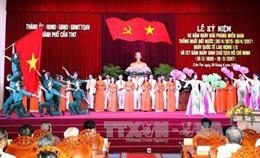 Lễ kỷ niệm 42 năm ngày Giải phóng miền Nam tại Cần Thơ