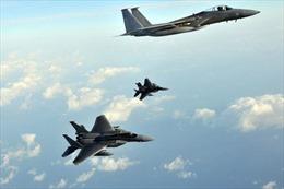Căng thẳng trên Bán đảo Triều Tiên leo thang, Mỹ-Nhật tập trận trên không