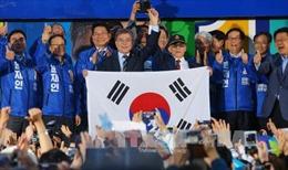 Biểu tình trước thềm bầu cử Tổng thống Hàn Quốc