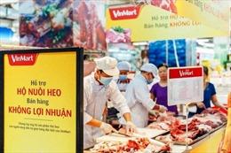 Nhiều siêu thị, doanh nghiệp tham gia giải cứu thịt lợn, bán hàng không lợi nhuận