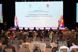 Ngày làm việc thứ hai Hội nghị IPU về ứng phó với biến đổi khí hậu