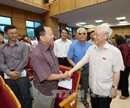Tổng Bí thư Nguyễn Phú Trọng: Sẽ tiếp tục kỷ luật những cán bộ đảng viên sai phạm