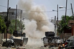 13 tay súng IS bị tiêu diệt khi đang họp ở Anbar, Iraq