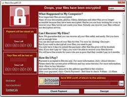 Danh sách tập tin, máy chủ chứa mã độc WannaCry và cách phòng chống