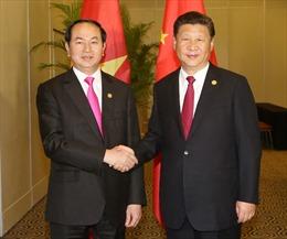 Chủ tịch nước Trần Đại Quang gửi điện cảm ơn Tổng Bí thư, Chủ tịch Trung Quốc Tập Cận Bình