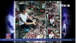 Nghiêm trị hai kẻ đổ chất bẩn vào phản thịt lợn rẻ của chị Đỗ Thị Xuyến