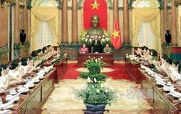 Chủ tịch nước ghi nhận chiến công của các nữ công an