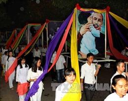 Nghệ An: Khai mạc Lễ hội Làng Sen năm 2017