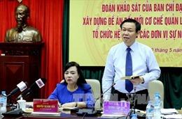 Phó Thủ tướng: Bộ Y tế cần có giải pháp đột phá về tài chính, BHYT