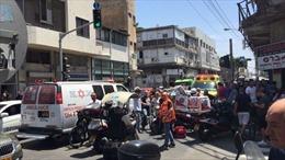 Ô tô đâm vào đám đông ở Israel ngay trước giờ đón Tổng thống Mỹ