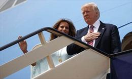 Tổng thống Mỹ Donald Trump bắt đầu thăm Israel