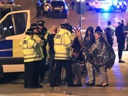 IS nhận đánh bom liều chết sân vận động Manchester Arena