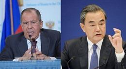 Ngoại trưởng Nga và Trung Quốc nhất trí về vấn đề Syria, Triều Tiên