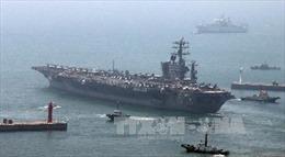 Động thái chưa từng có: Mỹ điều 3 tàu sân bay tới 'vây' Triều Tiên