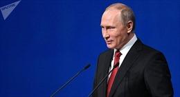 Tổng thống Putin 'đổ lỗi' cho Tổng thống Trump về việc 'tuyết rơi tháng 6' ở Moskva