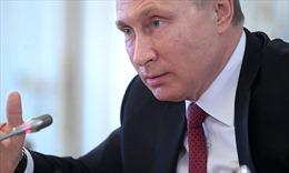 Tổng thống Putin: Người Mỹ bị đánh lừa rằng Nga can thiệp bầu cử tổng thống