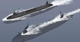 Trung Quốc phát triển tàu chiến có thể biến thành tàu ngầm tàng hình