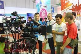 Khai mạc triển lãm quốc tế Phim và Công nghệ truyền hình Việt Nam