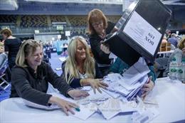 Công Đảng đang dẫn trước trong bầu cử Quốc hội Anh
