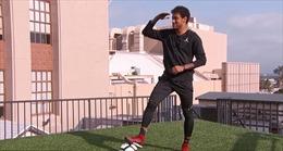 Kỹ năng sút bóng tuyệt đỉnh ngang đại lộ Hollywood nổi tiếng của Neymar