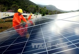 Nhiều dự án điện mặt trời đầu tư vào Bình Thuận