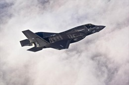 Không quân Mỹ cho F-35 'đắp chiếu' sau khi phi công bị khó thở
