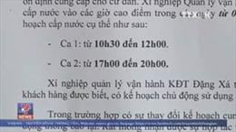 Người dân Hà Nội khốn khổ vì mất nước
