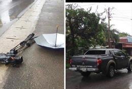 Khởi tố điều tra vụ xe ô tô đâm hỏng máy quay của phóng viên VTV