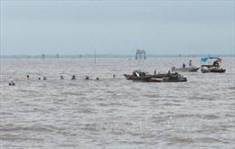 Hải Phòng: Một ngư dân bị mất tích ở bãi ngao