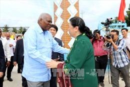 Đoàn đại biểu cấp cao của Quốc hội Cuba thăm và làm việc tại Bến Tre