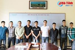 Hà Tĩnh: Truy nã 3 đối tượng bắn nhau trước Khách sạn BMC