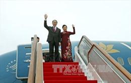 Chủ tịch nước Trần Đại Quang sẽ thăm chính thức Liên bang Nga và Cộng hòa Belarus