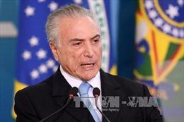 Cảnh sát Brazil khẳng định có bằng chứng Tổng thống Temer dính líu tham nhũng