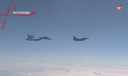 Su-27 Nga đuổi chiến đấu cơ NATO bám theo máy bay chở Bộ trưởng Quốc phòng Shoigu