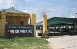 2.500 công nhân Công ty may xuất khẩu Philko Vina dừng đình công