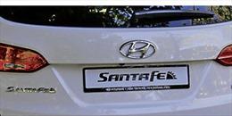 Hyundai thu hồi gần 44.000 xe Santa Fe ở Trung Quốc vì lỗi động cơ