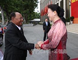 Chủ tịch Quốc hội Vương quốc Campuchia kết thúc tốt đẹp chuyến thăm hữu nghị chính thức Việt Nam