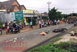 Ngã xe khi trời mưa, người đàn ông bị xe tải cán tử vong