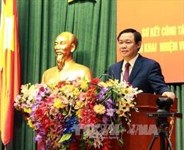 Phó Thủ tướng Vương Đình Huệ: Ngành tài chính cố gắng vượt thu 5-8%