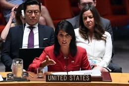 Mỹ trao cho Trung Quốc dự thảo nghị quyết tăng cường trừng phạt Triều Tiên