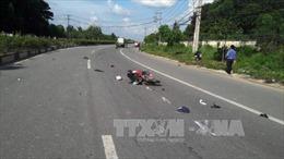 Hai thanh niên tử vong tại chỗ do va chạm xe máy với xe tải