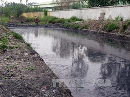Xử lý nghiêm các cơ sở gây ô nhiễm tại Cụm công nghiệp Tân Hồng-Bình Giang