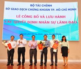 Ông Trần Văn Dũng được bổ nhiệm Chủ tịch Ủy ban Chứng khoán Nhà nước