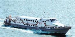 Đưa vào khai thác tuyến tàu cao tốc Sóc Trăng - Côn Đảo